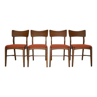 Restored Mid-Century Modern Dining Chairs - Set of 4 For Sale