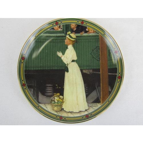 1986-Plate Number 10114D of the limited edition of A Mothers Welcome by Norman Rockwell. Fourth issue in Rockwells...