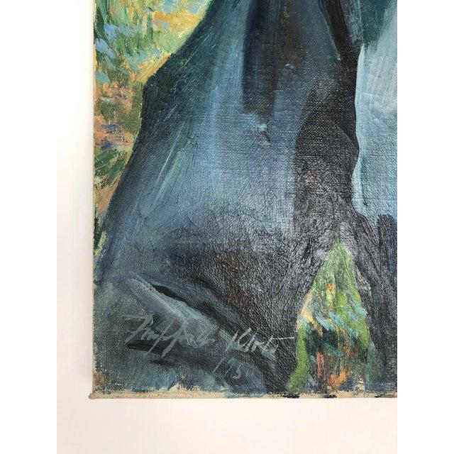 Children's Postimpressionist Signed Portrait of a Boy For Sale - Image 3 of 5