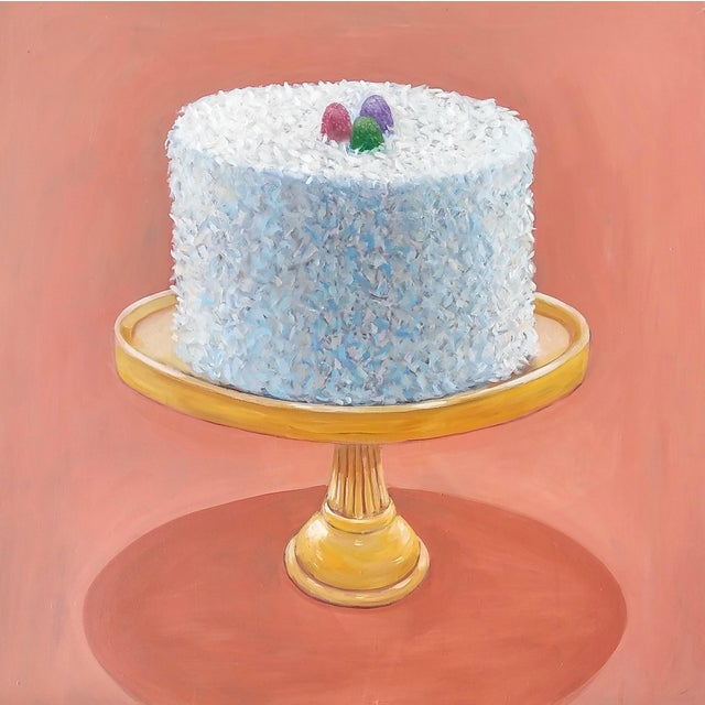 Traditional Paula McCarty Coconut Cake Print For Sale - Image 3 of 3