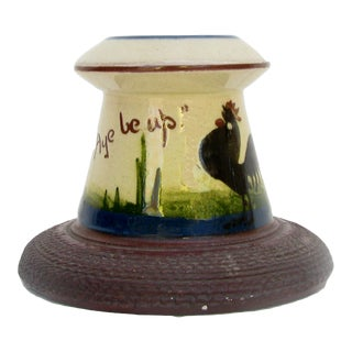 1920s English Art Pottery Match Striker For Sale