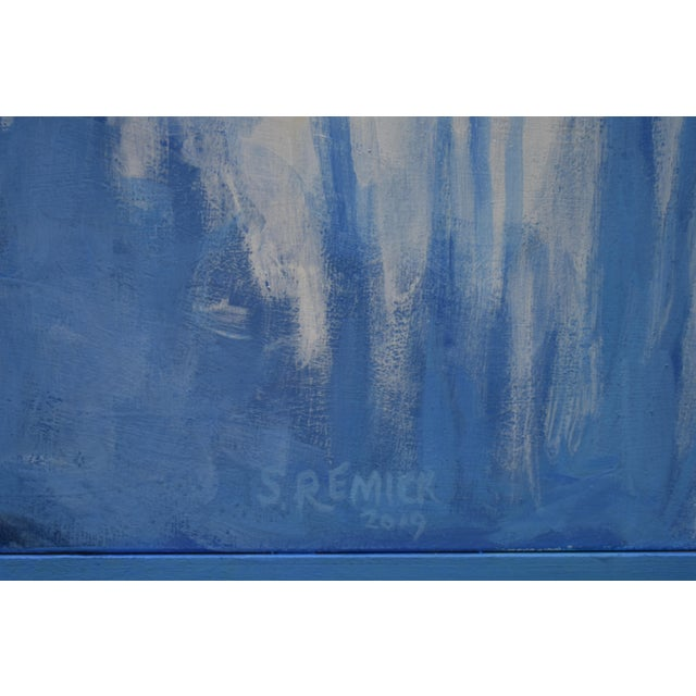 """Stephen Remick """"Sunny Ridgeline"""" Contemporary Painting For Sale In Providence - Image 6 of 12"""