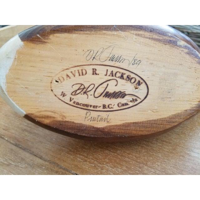 David R. Jackson Pintail Drake Decoy For Sale - Image 4 of 4