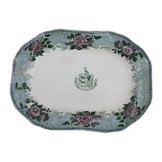 Antique Copeland Spode Crested Platter