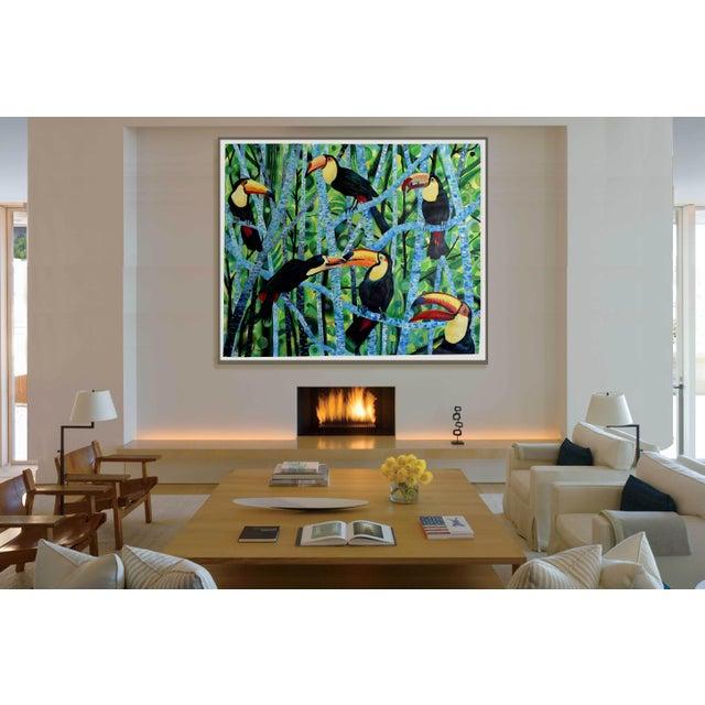 Ramphastos Fantasia Acrylic Painting - Image 9 of 10