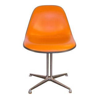 Orange La Fonda Eames Chair for Herman Miller For Sale