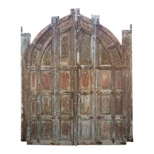 Old Jodhpur Carved Entrance Doors For Sale