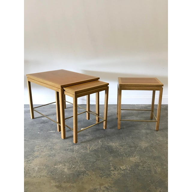 1950s Edward Wormley for Dunbar Nesting Tables-Set Of 3 For Sale - Image 9 of 9