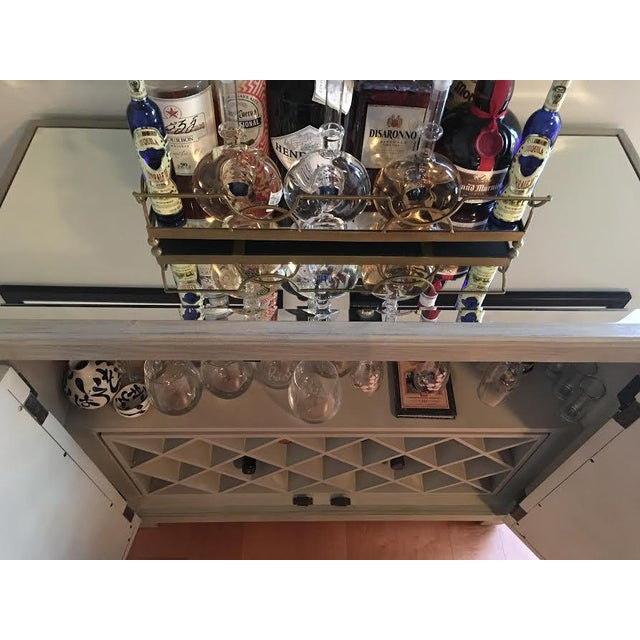 Mirrored Bar Cabinet For Sale In Dallas - Image 6 of 8