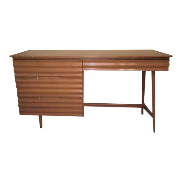 1950's Danish Modern Style Study Desk - Image 1 of 6