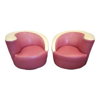 Post Modern Kagan Nautilus Chairs - A Pair For Sale