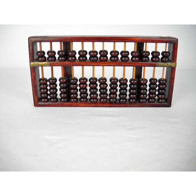 Late 20th Century Asian Brass Wood Abacus For Sale - Image 5 of 8