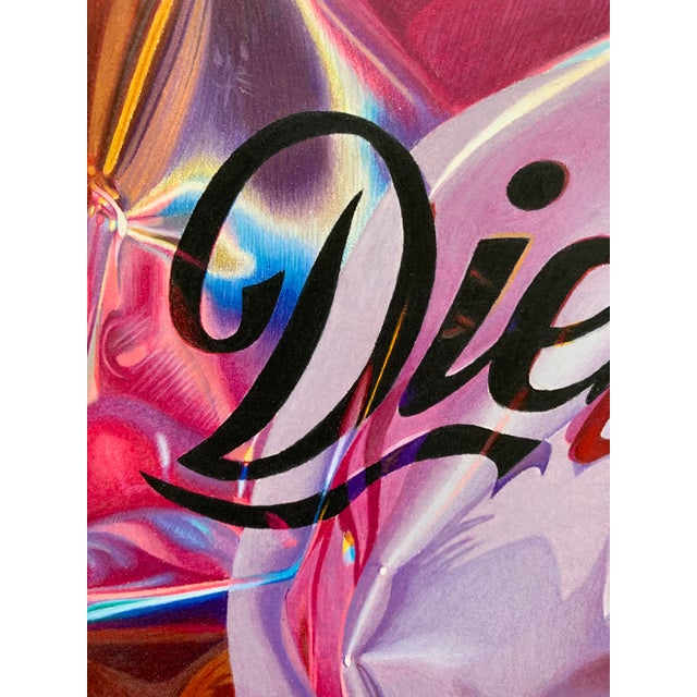 """""""Diet Coke"""" Contemporary Still Life Limited Edition Print by Jack Verhaeg For Sale - Image 4 of 4"""