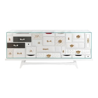 Mondrian White Sideboard From Covet Paris For Sale
