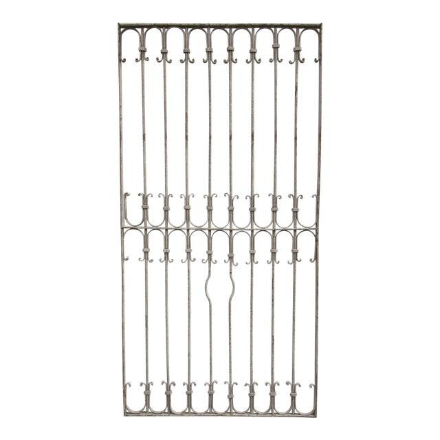 Antique Victorian Iron Gate - Image 1 of 6