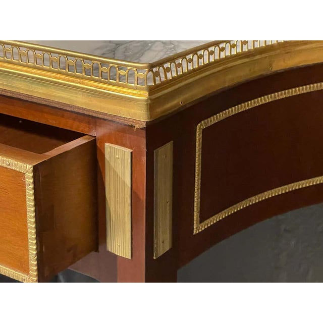 Neoclassical Russian Neoclassical Console Tables, Sofa Tables or Bedside Stands - a Pair For Sale - Image 3 of 12