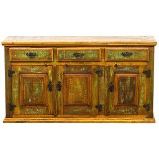 Reclaimed Solid Wood Buffet Cabinet/Sideboard
