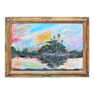 Florida Highwayman Painting, M. Sears