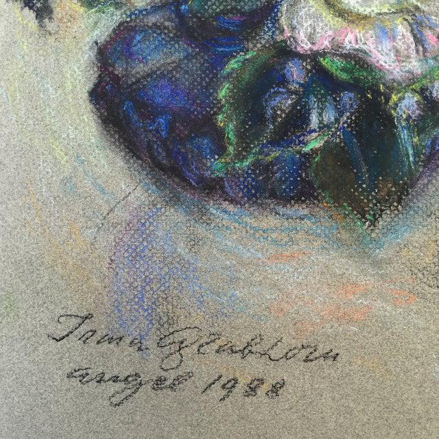 Floral Pastel by Irma Engel Grabhorn - Image 3 of 4