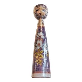 'Flower Girl' Vase by Elio Schiavon for Erhart Skk For Sale