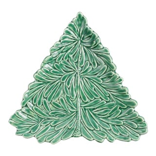 Lastra Holiday Figural Tree Small Plate For Sale