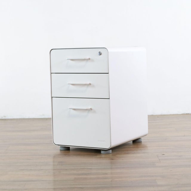 Our best-selling Stow File Cabinet is the stylish shelter your files are seeking. Powder-coated steel construction with...