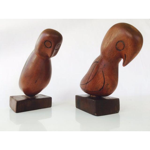 Mid-Century Teak Love Birds - A Pair - Image 5 of 7