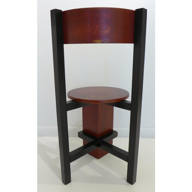 """Constructivist """"Bastille"""" Chair by Piet Blom For Sale In New York - Image 6 of 9"""