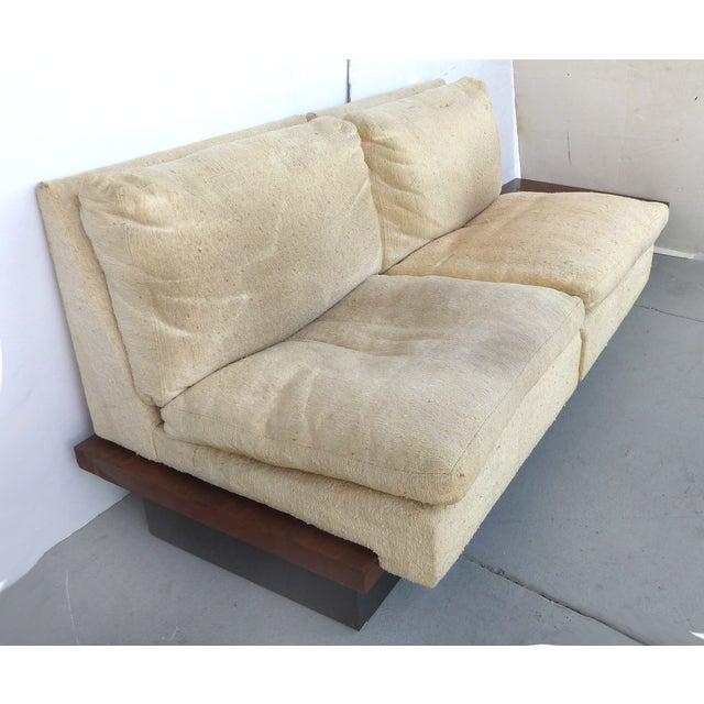 Pearsall-Style Modular Platform Sofa - Image 7 of 9