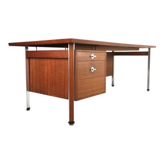 Finn Juhl Danish Modern Teak Executive Desk for France and Son mid century