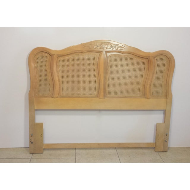 French Provincial Queen Size Headboard - Image 3 of 10