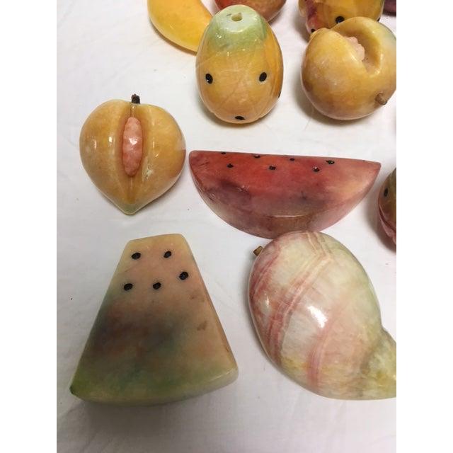 Assorted Vintage Alabaster Fruit - Set of 19 - Image 5 of 9