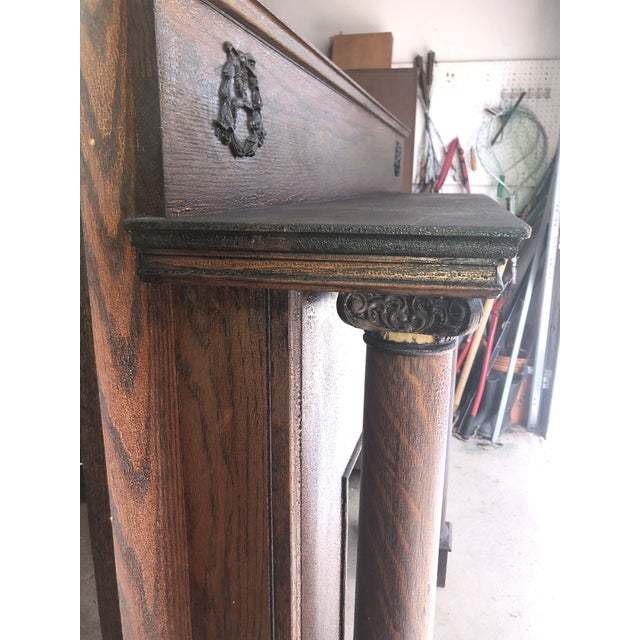 Early 20th Century Fireplace Surround Mantel For Sale - Image 11 of 13