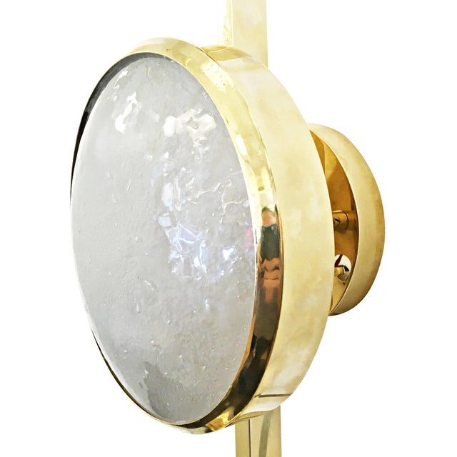 Gold Geo Adjustable Wall or Ceiling Light by formA For Sale - Image 8 of 11