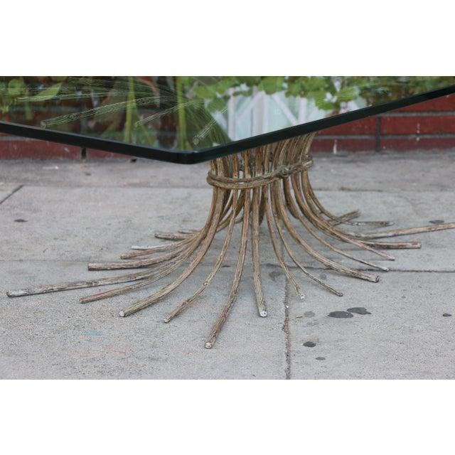 "Vintage Metal ""Tree"" Roots Coffee Table - Image 5 of 11"