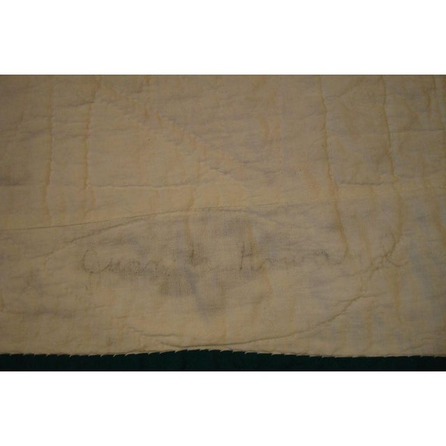 Early 20thC. Folky School House Quilt - Image 9 of 9