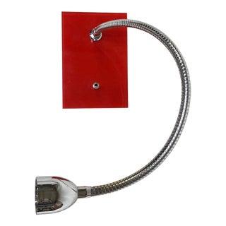 Bover Flexo Wall Light in Red For Sale