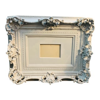 Late 20th Century Vintage Ornate Decorative Art Frame For Sale