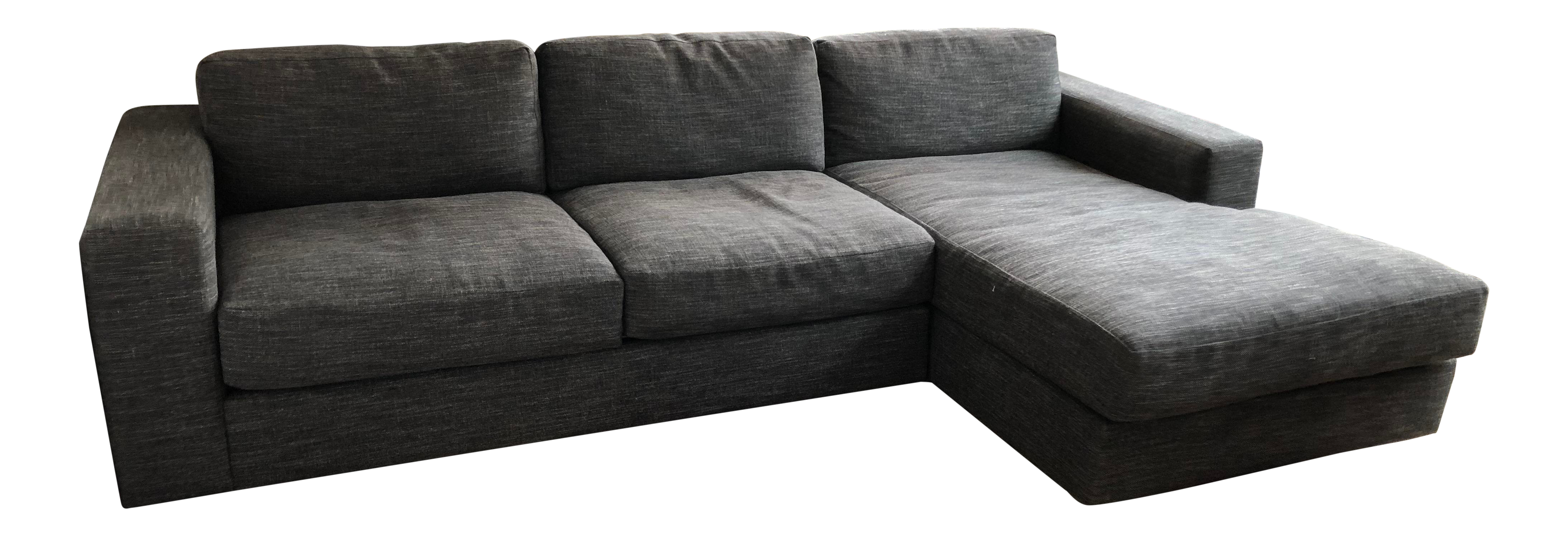 West Elm Grey Sectional
