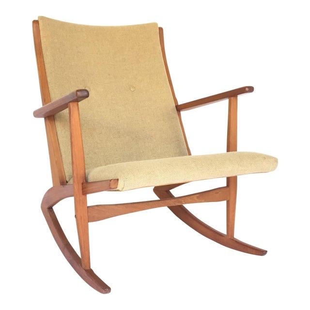 Holger Georg Jensen Rocking Chair For Sale