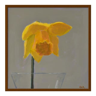 "Medium ""Daffodil"" Print by Anne Carrozza Remick, 24"" X 24"""