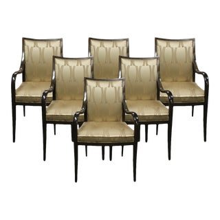 Donghia Dominique Dining Chairs - Set of 6 For Sale