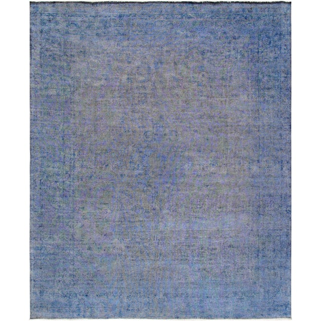 "Modern Pasargad Overdye Lamb's Wool Area Rug- 10' 1"" X 12' 6"" For Sale"