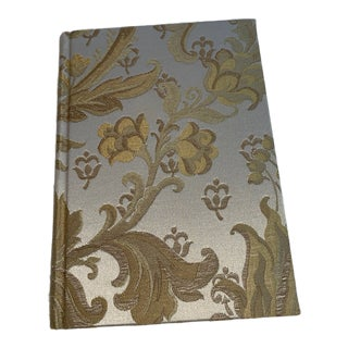 Vintage Fabric Covered Journal For Sale