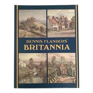 """""""Dennis Flanders' Britannia"""" 1984 First Ed. Book"""