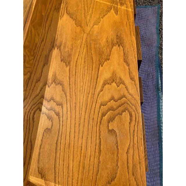 Wood 1970s Brutalist Mosaic Bedrooom Set For Sale - Image 7 of 8