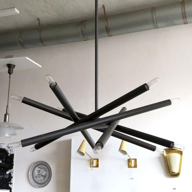 Not Yet Made - Made To Order Gallery L7 Spiral Orb Chandelier For Sale - Image 5 of 11