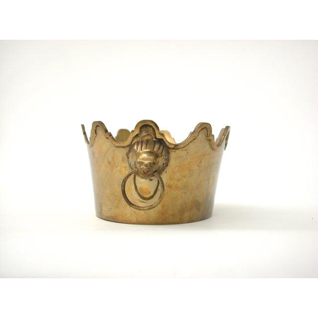 Brass Lion Bowl - Image 5 of 9