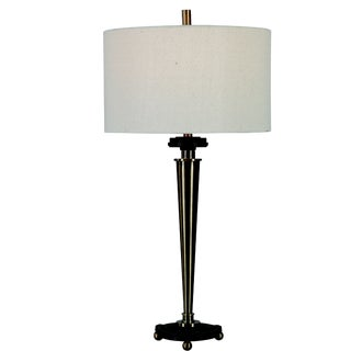 Art Deco Industrial Table Lamp For Sale