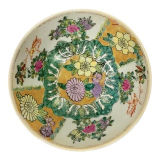 Vintage Chinese Porcelain Bowl For Sale